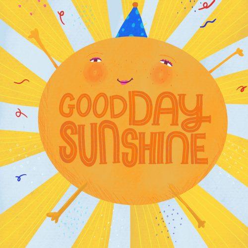Kathy Osborne Studio Copyright2021 Goody Day Sunshine Card